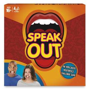 Speak Out game @ Amazon (Sold by Magic Stores) - £12.35