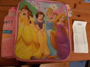 Disney Princess Lunchbox rtc £2.50 Tesco instore