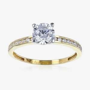 9ct Gold Cubic Zirconia RIng £62.50 Delivered usually £165