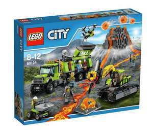Tesco instore LEGO City Volcano Exploration Base 60124 £29.69 (£24.69 with the magazine voucher!)
