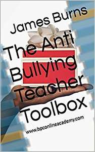 The anti bullying teacher toolbox, now available on Amazon US for FREE.