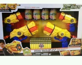 X-SHOT Combo Pack Dart Blaster £4.95 @ Tesco
