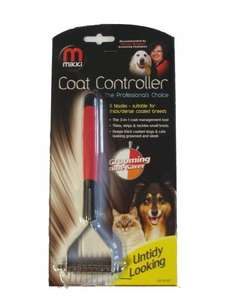 Mikki Coat Controller - perfect for taming and tidying the fur of fluffy cats! £8.49 @ Banisters Pets / Eaby