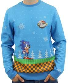 Sonic the Hedgehog Greenhill Xmas Jumper, £19.99 delivered @ GAME