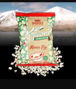 Mackies Mince Pie flavour popcorn (large bag) £0.99 @ Lidl