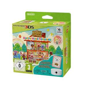 Animal Crossing Happy Home Designer + Amiibo Card + NFC Reader/Writer 3DS + free amiibo £29.99 @ Smyths