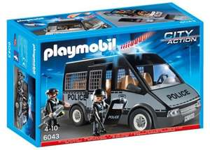 PlayMobil 6043 Police Van with Sounds And Lights £13.99 @ Argos