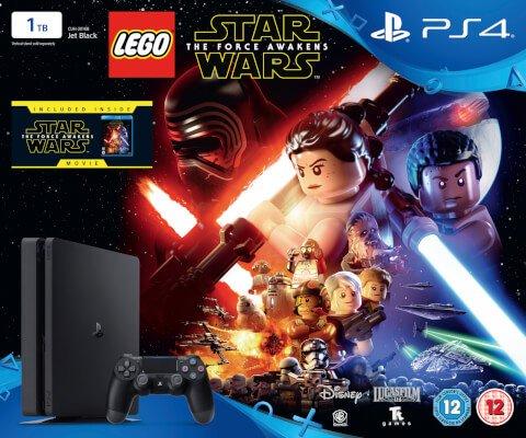 ps4 slim 1tb with star wars the force awakens £249.99 Zavvi