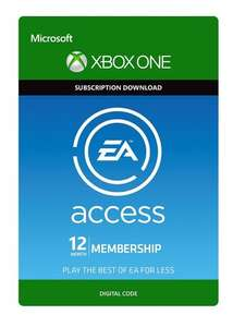 EA Access 12 Month Subscription Xbox One (Download Code) £17.49 @ Amazon