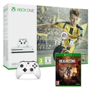 Xbox One S 500GB FIFA 17 Bundle with Dead Rising 4 PLUS extra Controller (and Custom Battery Cover) - £232.00 Delivered - Microsoft Store (France)