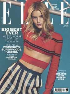 Free Benefit Dew the Hoola 5ml liquid bronzer worth £9.95 when you buy Elle Magazine for £4.10
