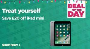 IPad mini £20 off all types @ Currys (TODAY ONLY)