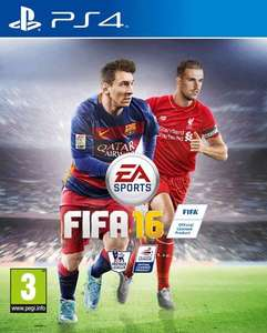 FIFA 16 (new standard edition) PS4 £11.99 @ Zavvi