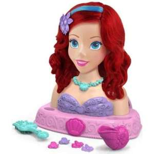 Disney Princess Ariel Bath Styling Dolls Head £5.96 Instore @ Costco Haydock