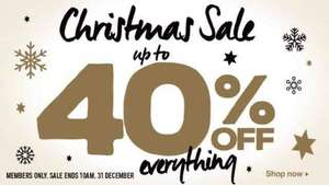 Audible members Christmas Sale. Every item on sale upto 40% off eg Harry Potter £9.35