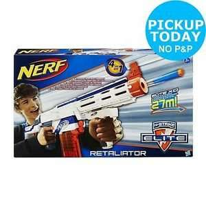 Nerf N-strike Elite Retaliator Blaster Gun was £32.99 now only £12.99 @ Argos Ebay Outlet