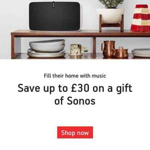 £20 to £30 off @ Sonos - Play 1 £149