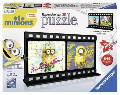 Ravensburger 3D Puzzle 11208 Film Strip Minion, Natural Multi - £4.55 @ Amazon (Add On Item)