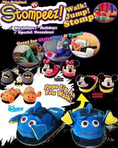 Stompeez slippers £1.99 @ home bargains!