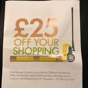 £25 off shopping at Lidl over 5 weeks in Milton Keynes