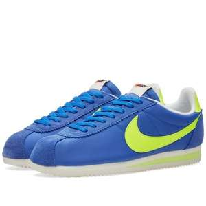 NIKE CLASSIC CORTEZ AW Varsity Royal £32.20 delivered @Endclothing.com