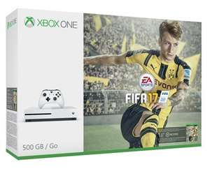 Xbox One S Console - 500 GB - Fifa 17 Bundle Edition (1 Month's EA Access) - £205 - Coolshop (4.4% Cashback - £9.02)