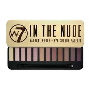 """W7 Cosmetics """"In The Nude"""" Eyeshadow Palette - £4.41 (using code) delivered from Justmylook"""