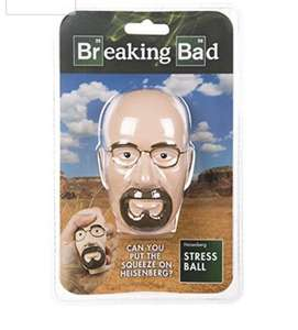 Breaking Bad Walter Head Stress Ball £2.99 @ B&M