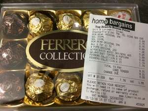 Ferrero Roche Collection - Home Bargains  -15 pieces 175g @  £1.79