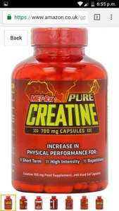 Met-rex creatine 240 caps 7th £3.91 add-on item(Prime) @ Amazon