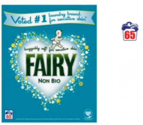 Fairy Washing Powder Non Bio 65 Washes £10 - ASDA Groceries