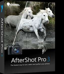 Corel Aftershot 3 for free (image edit software) upgrade to Aftershot 3 Pro for just £15.99 @ Corel save 67%