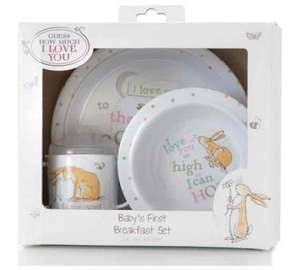 Guess How Much I love you baby's first breakfast set reduced @ Argos - £10.99