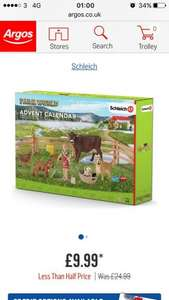 Farm world advent calendar £9.99 @ Argos