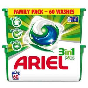 Ariel 3 in 1 family pack £10 @ Asda