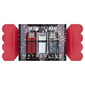 Maybelline Merry Little Mani  -Gift Set £3.75 add on item @ Amazon