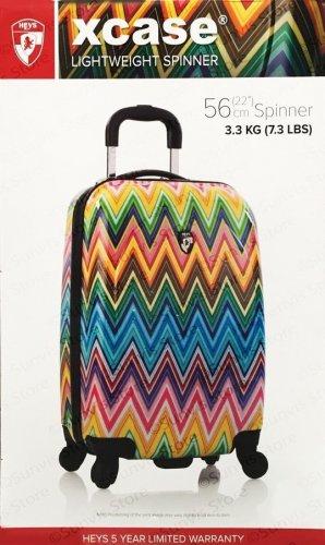 HEYS 22 XCase LightWeight 4 Wheel Spinner Hand Cabin Luggage Suitcase 56cm £17.49 Costco