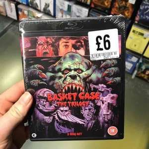 basket case trilogy blu-ray  £6  at fopp blu ray