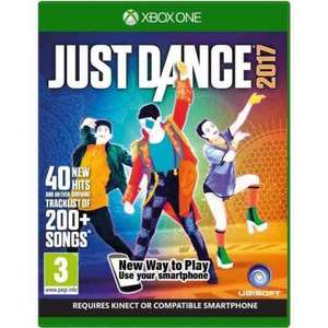 Just dance 2017 (Xbox one) preowned £14.99 @ Grainger games