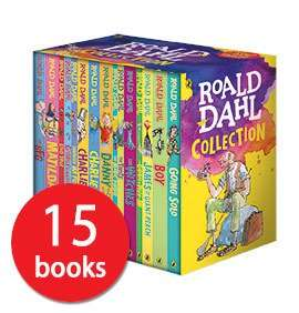 Roald Dahl 15 book box set , book people £14.84 with code