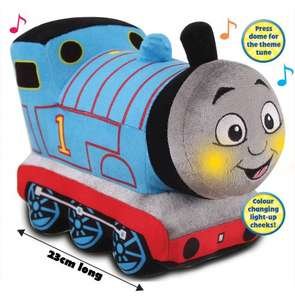 Glowing Musical Thomas Soft Toy £12.49 Half Price @ Argos! Was £24.99