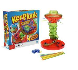 Hasbro Board Games Reduced  @ Argos,  Ker Plunk £7.50., Guess Who £7.50, Jenga £6.99, Connect 4 £5.99 + many others