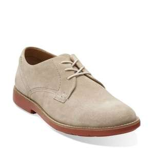 Clarks outlet. These shoes. 70% off.  Raspin Plan Wolf Suede £20 Free delivery.