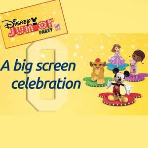 FREE Disney Junior Party at Odeon - A Big Screen Celebration + Free £5 off £20 Spend at Smyths Toys (Saturday 14th and Sunday 15th January for - Also for Ireland)