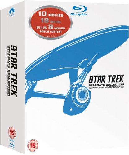[Blu Ray] Star Trek 1-10 Remastered Box Set - £19.79 - Zavvi