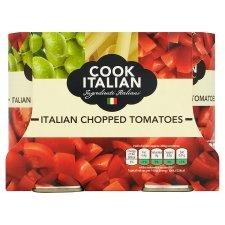 Cook Italian Plum Peeled or Chopped Tomatoes (4 x 400g Tins) was £3.00 now £1.50 @ Tesco