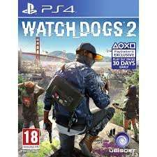 WATCH DOGS 2 PS4/XBOX ONE £29 @ Tesco