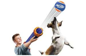 Dont Leave the Dog Out This Xmas! - Nerf Dog Tennis Ball Blaster - Only £14.99 @ Argos
