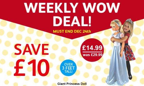 3FT Princess Doll £14.99 @ Poundstretcher