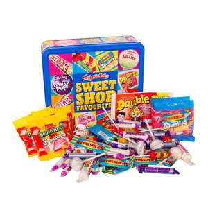 Swizzels Sweet Shop Favourites Big Bumper Tin 750g £4 - BUY ONE GET ONE FREE at Ocado